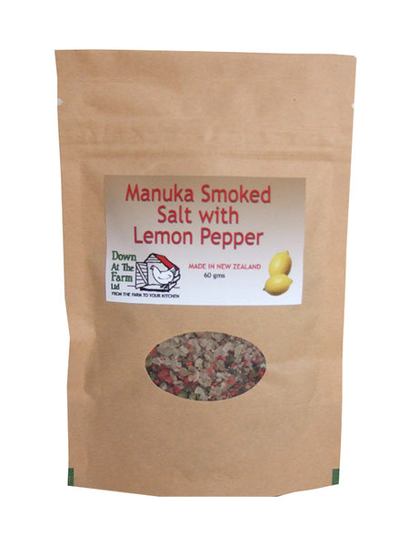 Manuka Smoked Salt with Lemon Pepper refill