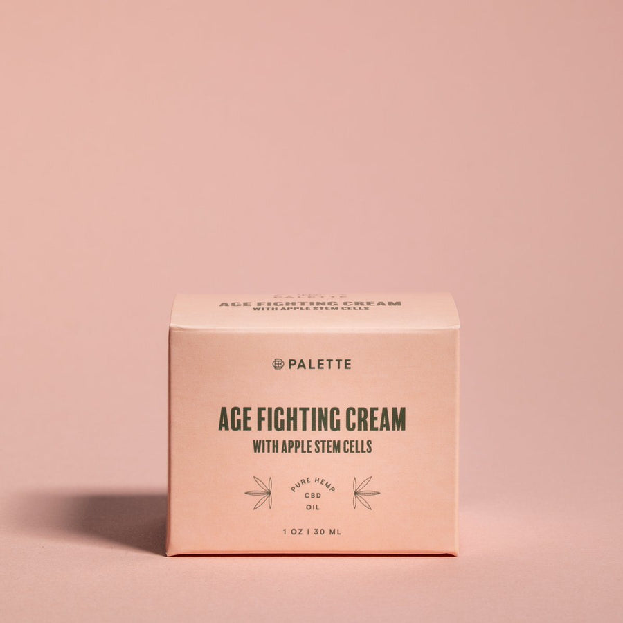 CBD Cream - Age Fighting with Apple Stem Cells - Palette Market