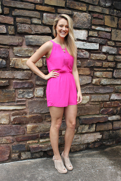72cd3e8e23bf Colby s first pick is one of our best selling rompers! (Modern Day Girl  Romper  36) She loves it because it s a great length and available in 3 fun  colors!
