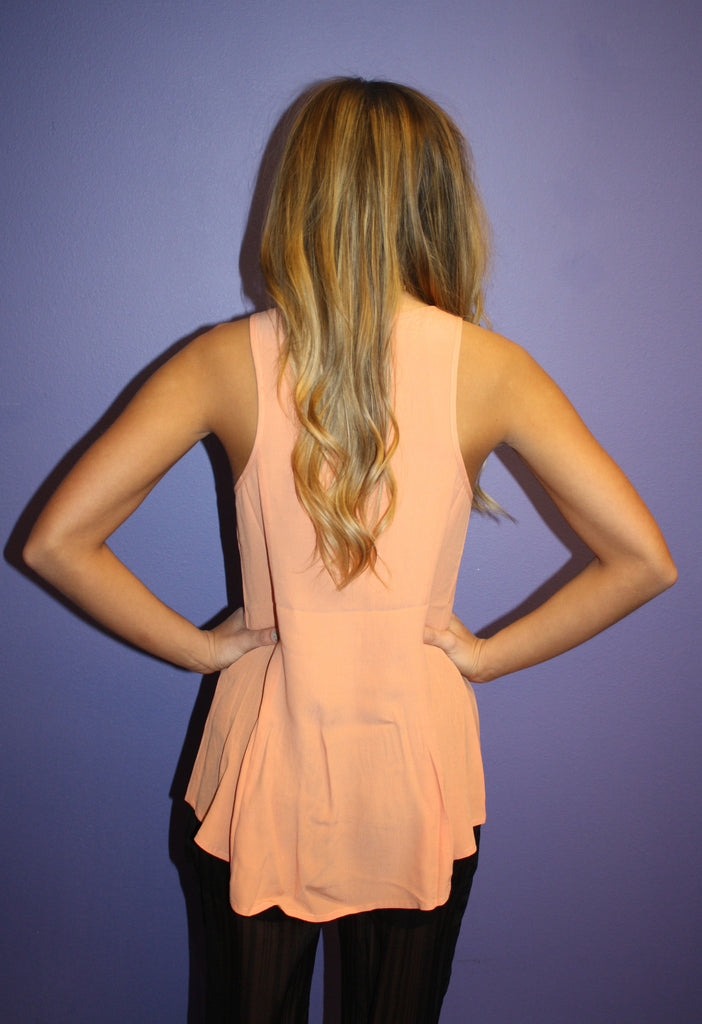 Sunkissed Tank in Peach