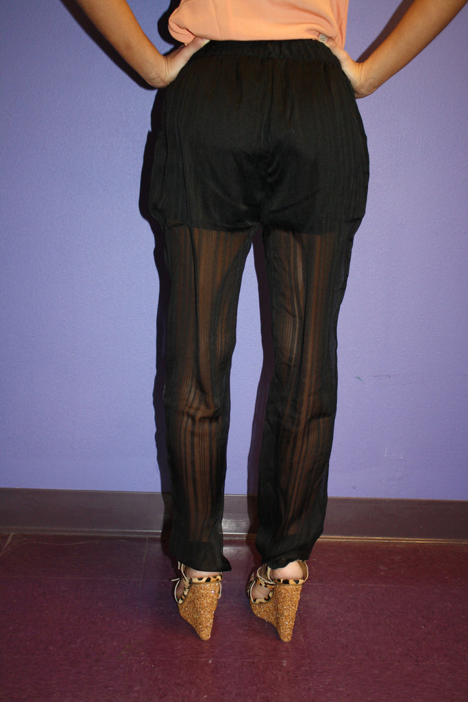 Seaside Dreams Pant in Black