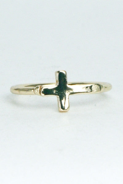 Cross Midi Ring