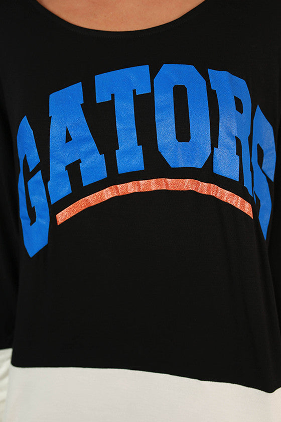 University of Florida Color Block Tunic