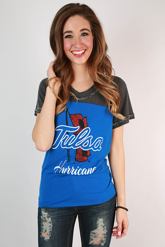 University of Tulsa Football Burnout Tee