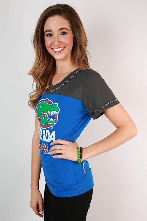 University of Florida Football Burnout Tee