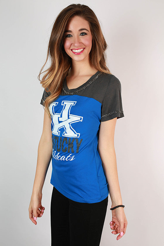 University of Kentucky Football Burnout Tee