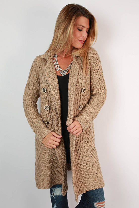 Afternoon Pick Me Up Cardigan