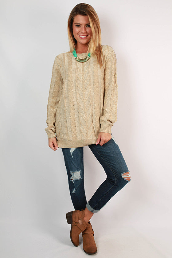 Soho Snuggles Tunic Sweater