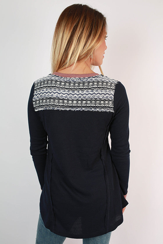 Vacation To Vail Thermal Henley