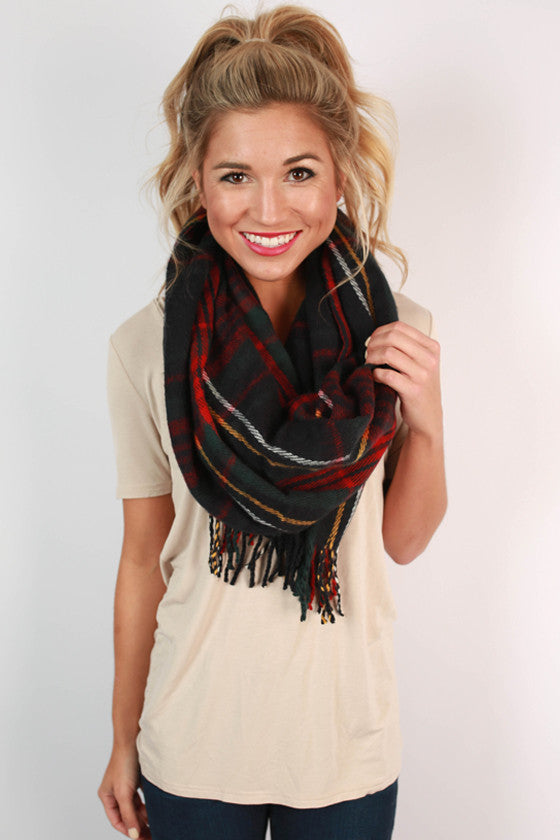 Picture Perfect Plaid Scarf