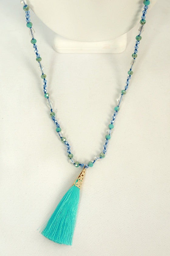 Tassel Traditions Necklace