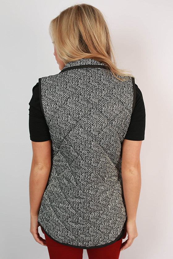 University Of South Carolina Herringbone Vest