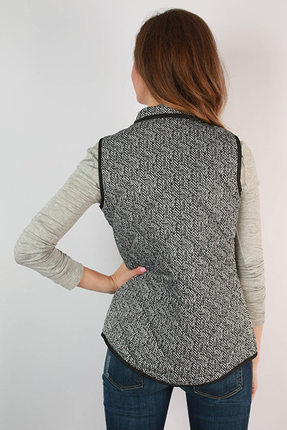 University Of Iowa Herringbone Vest