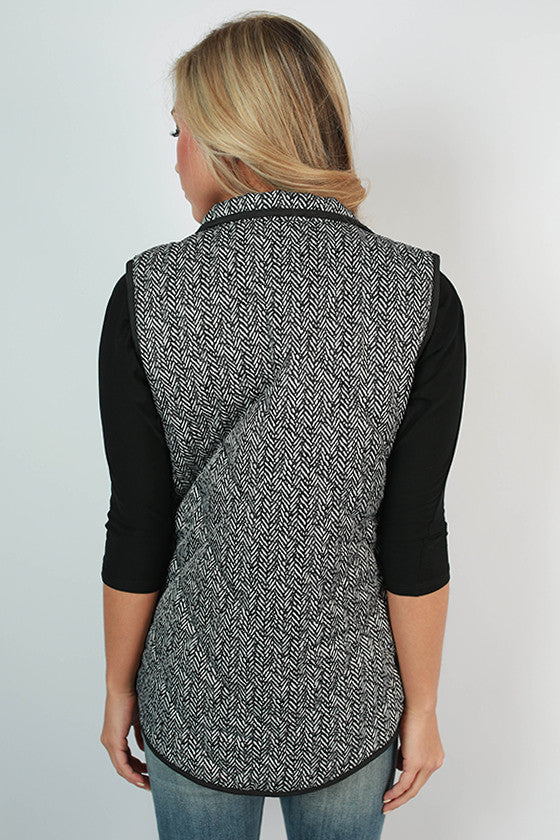 University Of Cincinnati Herringbone Vest