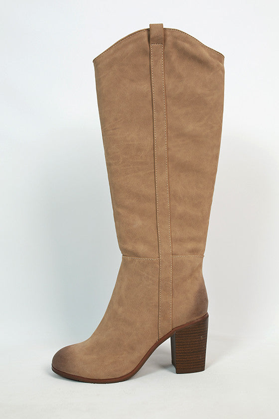 In Cahoots Boot in Taupe