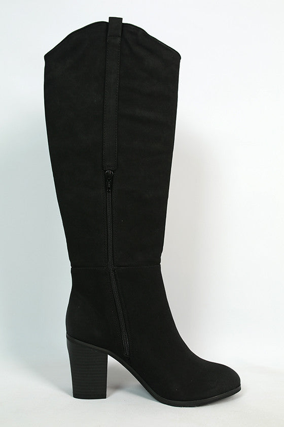 In Cahoots Boot in Black