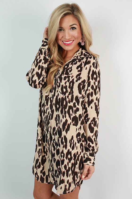 Cheetah Confidence Dress