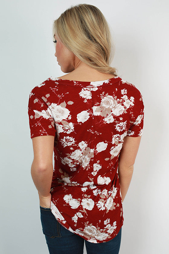 Floral on Repeat Tee