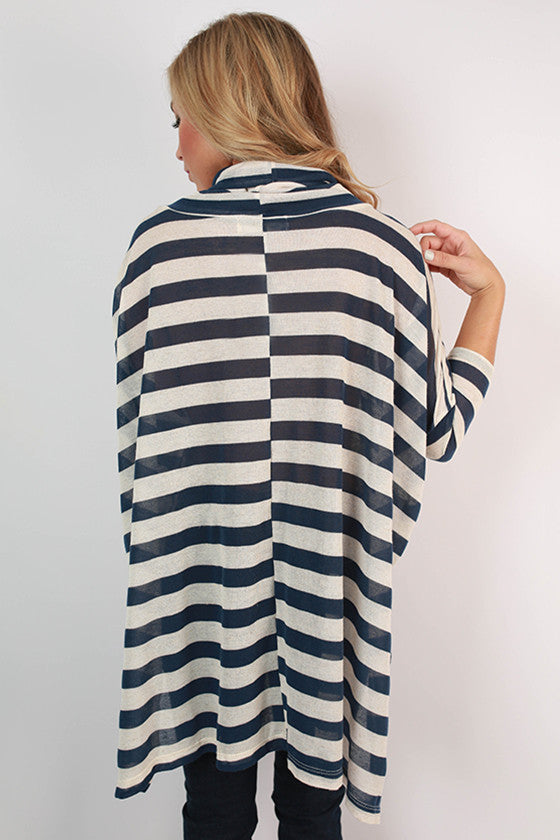 Dream Come True Stripe Turtleneck