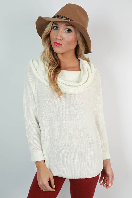 NYC Snuggles Sweater in Ivory