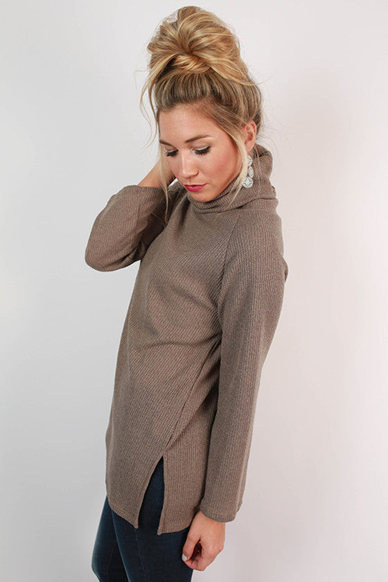 Tiramisu For Two Sweater in Taupe