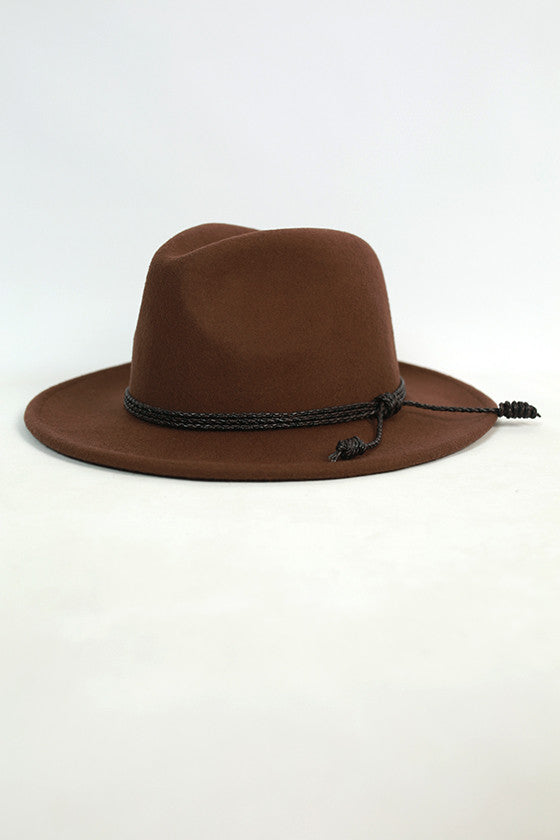 Soho Style Hat in Brown