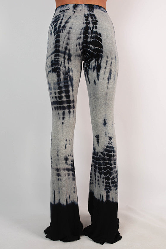 Downtown Denver Tie Dye Flare Pants