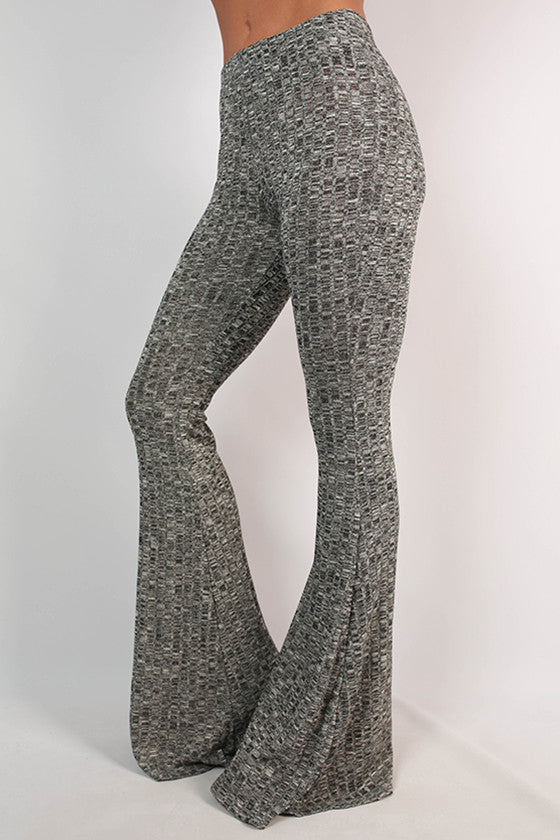 Salt & Pepper Flare Pants