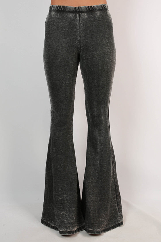 Not Basic Burnout Flare Pants
