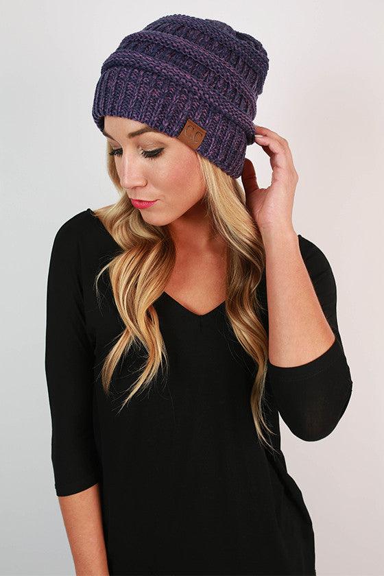 Beanie Beautiful in Royal Lilac Blend