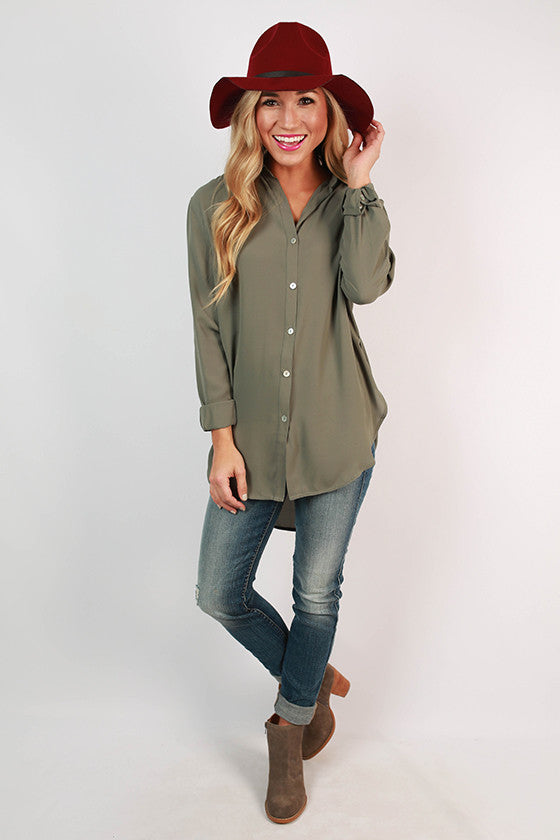 Juniper Breeze Tunic in Dusty Pear