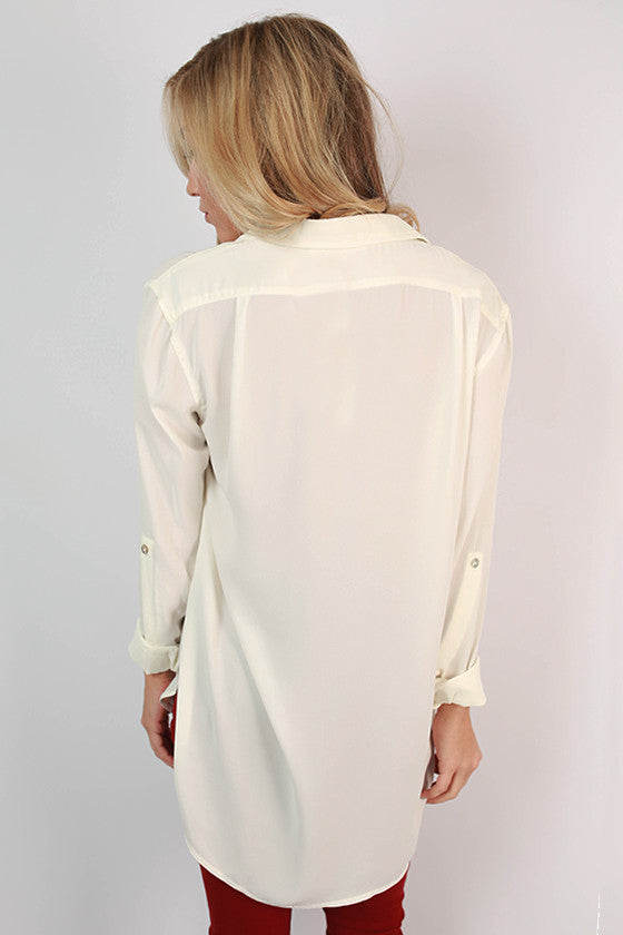 Juniper Breeze Tunic in Ivory