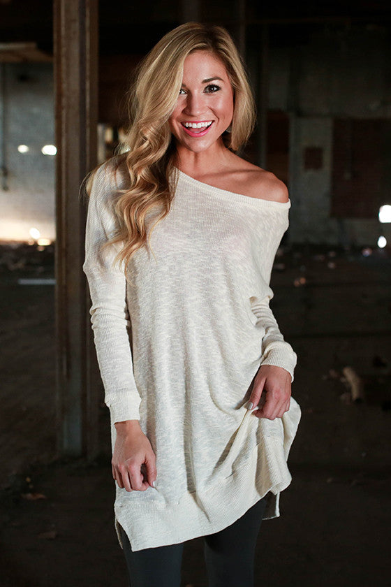 Breezy Thermal Tunic