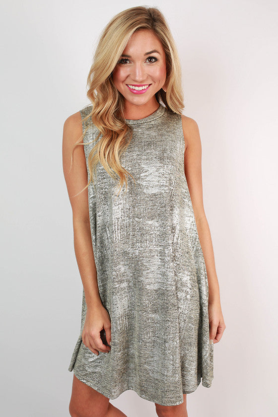 Cocktail Sparkles Swing Dress