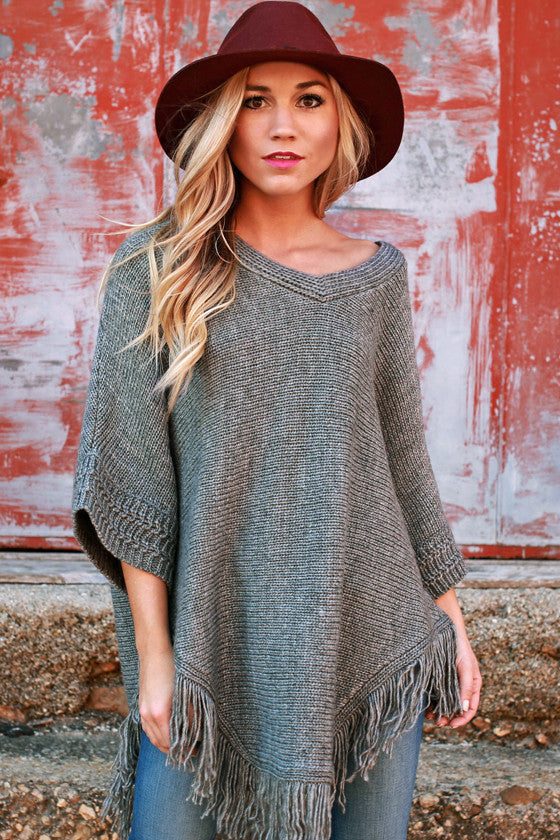 Morning Frost Sweater in Grey