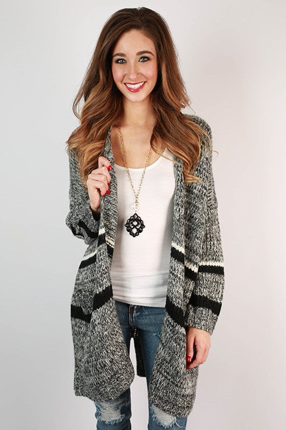 Simply Sweet Stripe Cardigan