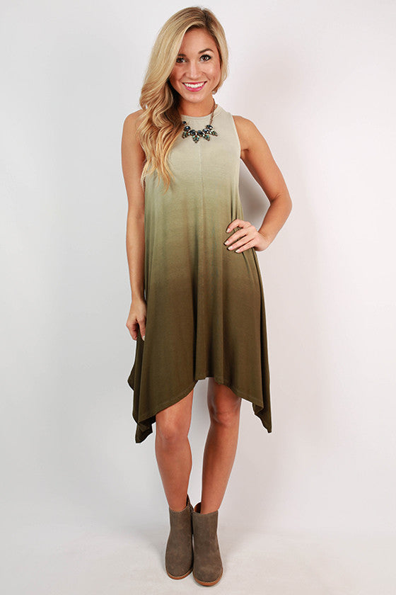 Ole' for Ombre' Tank Dress