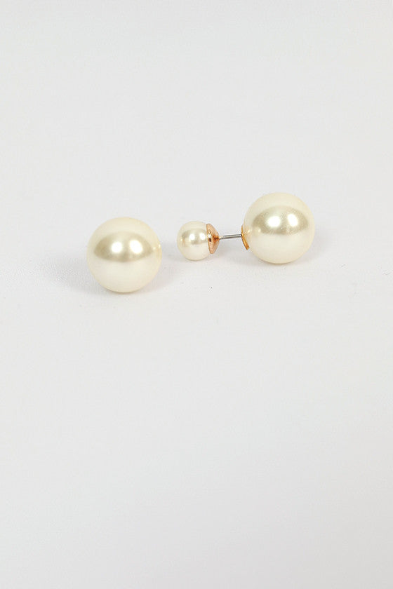 Peekaboo Pearl Earrings