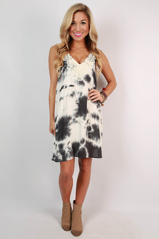 It's Showtime Tie Dye Dress