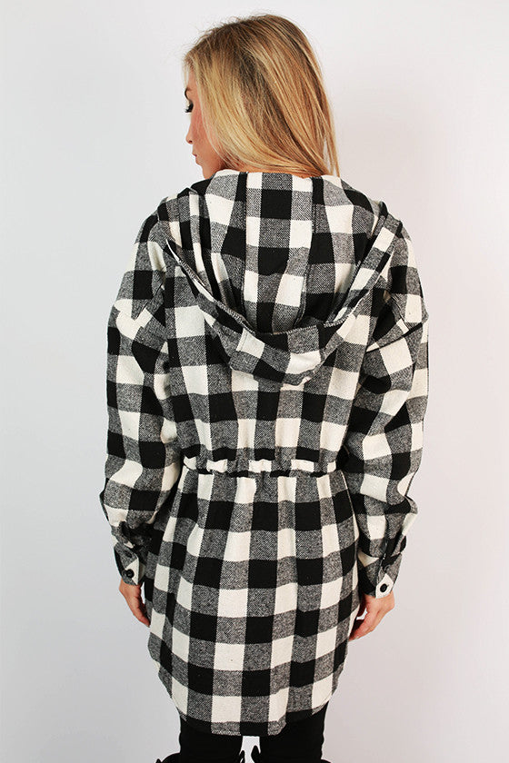 Lake Tahoe Weekend Plaid Jacket