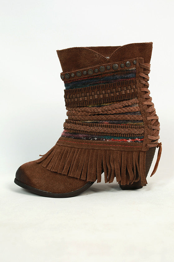 Poncho Bootie