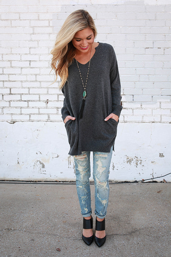 Words Of Wisdom Tunic Sweater