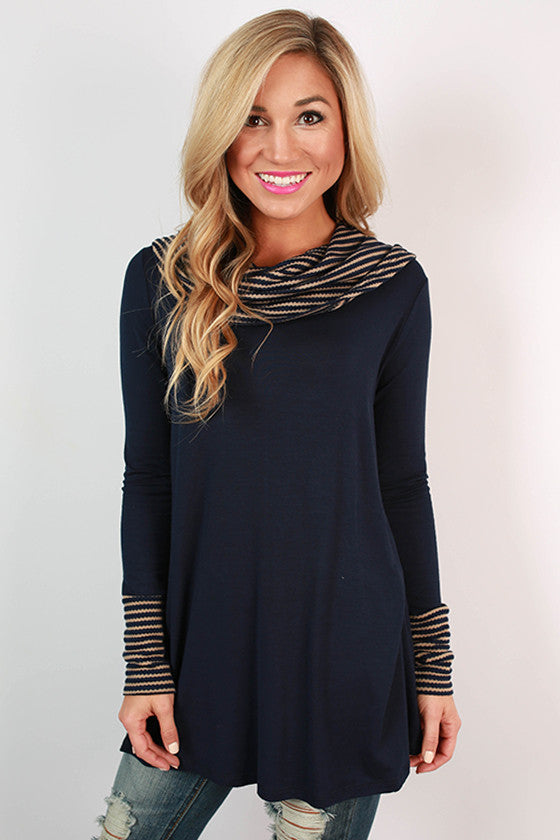 Stripes & Snuggles Tunic