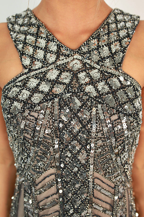 Pop The Champagne Sequin Dress