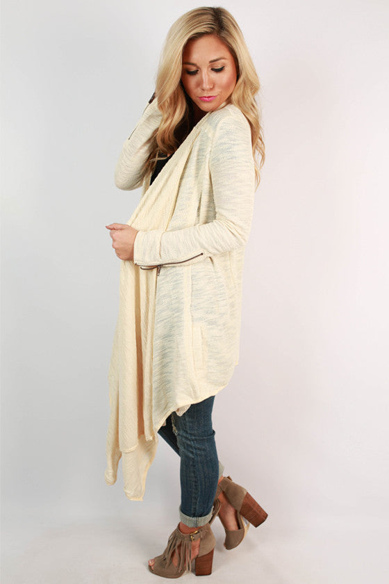 Cuddles & Cozy Cardigan in Cream