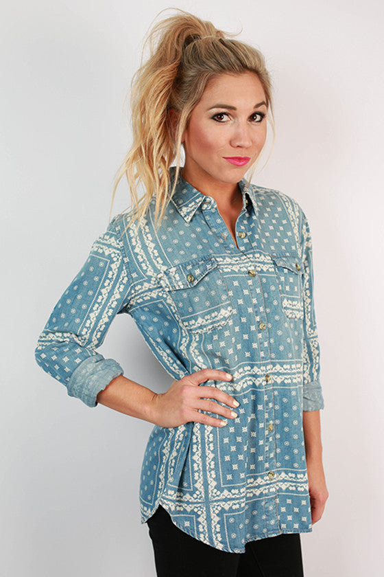 Yourn Button Up Shirt