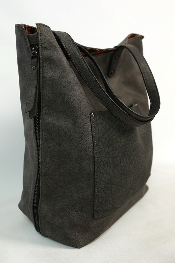 Made For Manhattan Tote Bag in Dark Grey