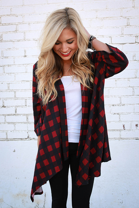 The Audrey Overlay in Buffalo Plaid