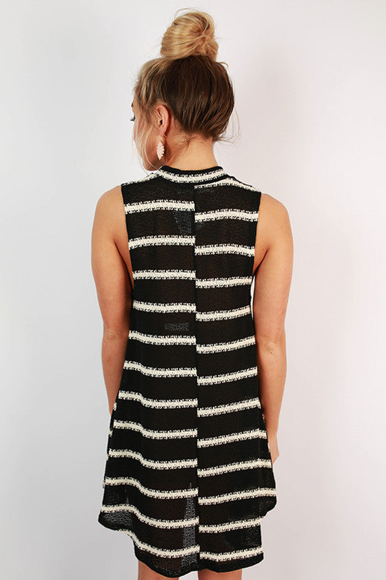 Into The Sunset Stripe Tank Dress