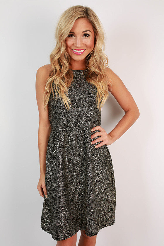 Champagne Sparkles Dress